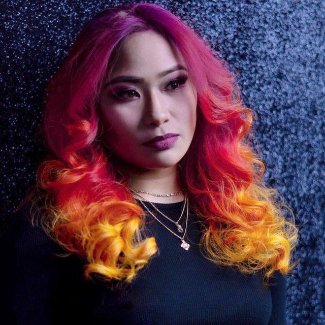 Sunset 💜💖🧡💛 ——————————————————————————— Hair: @stylistfairy using Xtreme Colors